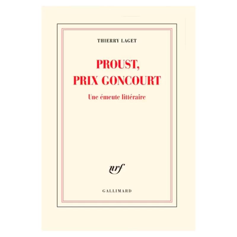 Proust, prix Goncourt- une...