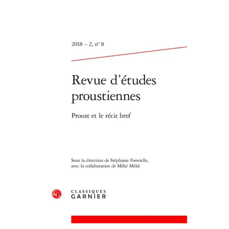 Proust et le récit bref -...