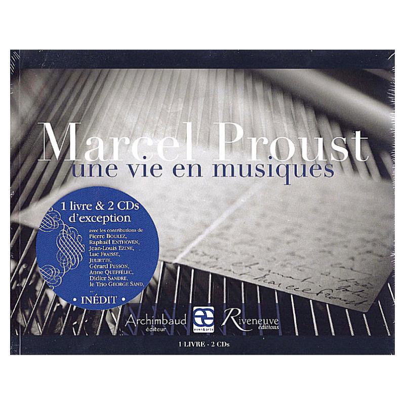 """Livre-disques """"Marcel..."""