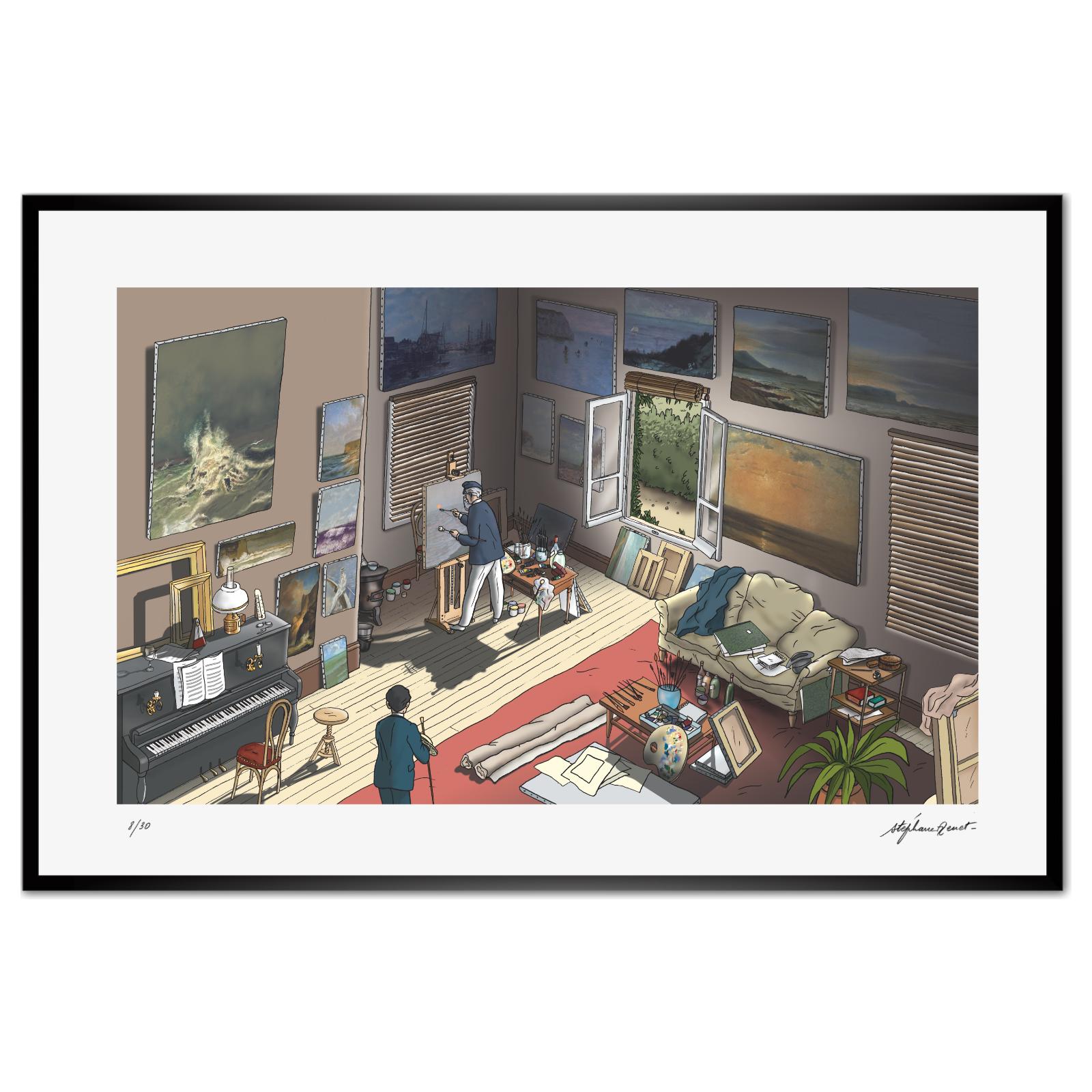 L'atelier d'Elstir
