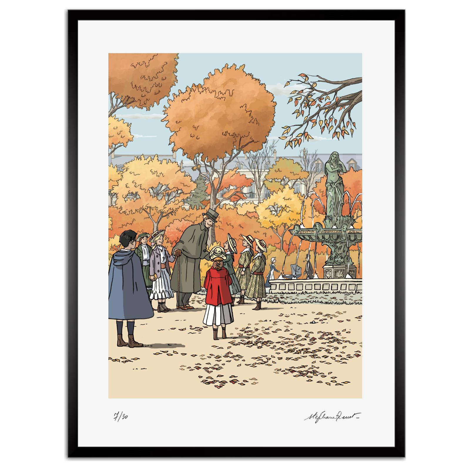 Au jardin des Champs-Elysées