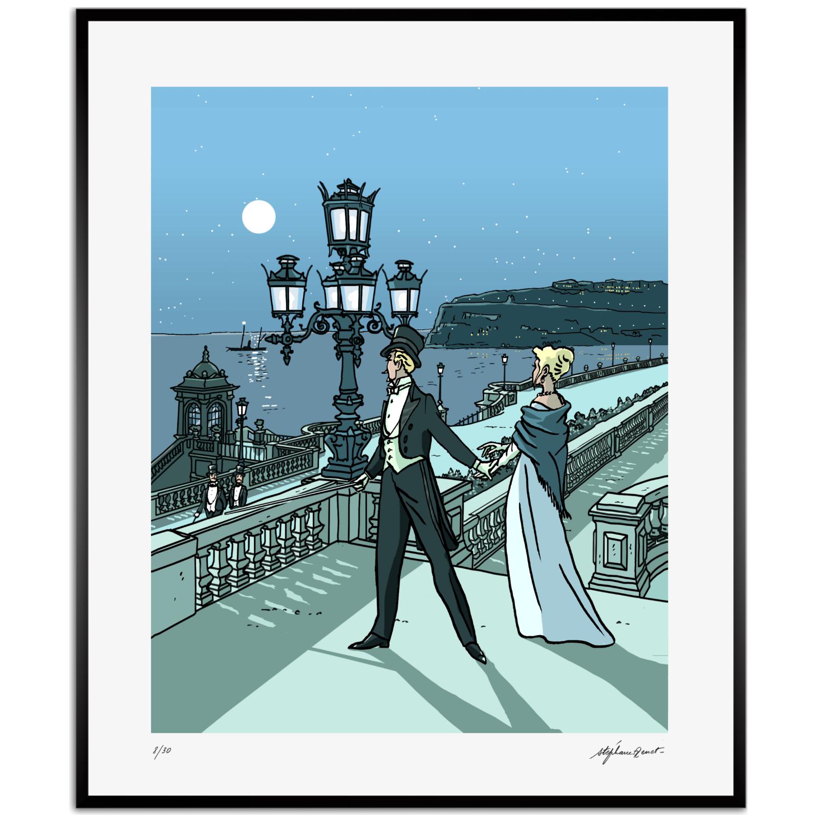 Odette et Charles Swann...