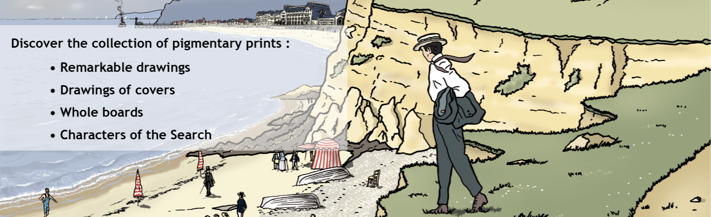 Prints, Drawings and Illustrations from In Search of Lost Time by Marcel Proust